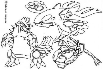 Coloriage Dessin A Imprimer Du Pokemon Grainipiot Et Goelise