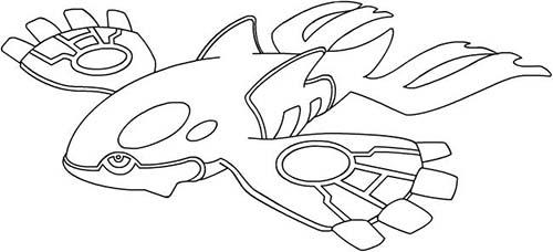 Coloriage dessin a imprimer du pokemon galegon - Pokemon baleine ...