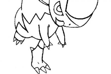dessin-a-imprimer-du-Pokemon-Kranidos.jpg