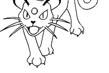 dessin-a-imprimer-du-Pokemon-Persian.jpg