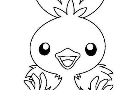 dessin-a-imprimer-du-Pokemon-Poussifeu-a-colorier.jpg