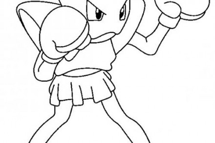 dessin-a-imprimer-du-Pokemon-Tygnon-au-combat.jpg